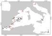 Larval collector sites in the Western Mediterranean and Adriatic seas :: Image: Authors